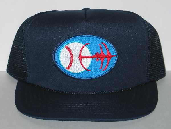 star trek deep space nine patch baseball hat cap new unworn crown caps high extra