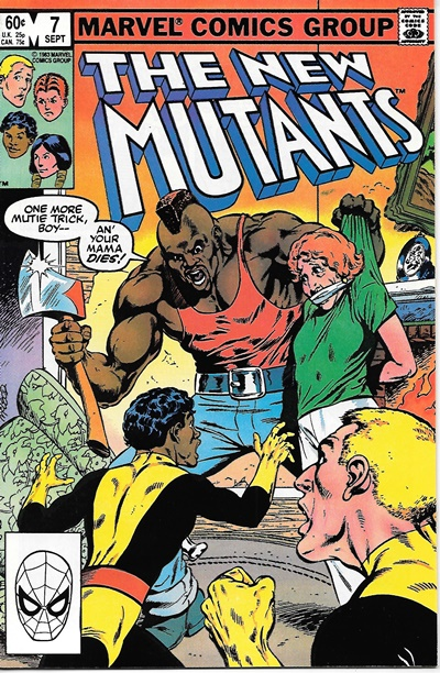 The New Mutants #4 Marvel 1983 Comic Book  Sharp Unread Copy!