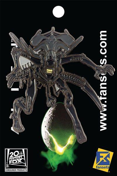 Alien Backing Card - side logo
