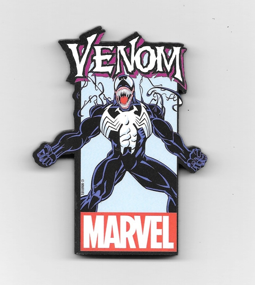 NEW UNUSED Captain America Character Image and Name Logo 3-D Die-Cut Magnet
