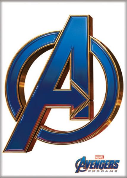 Marvel Comics Captain America Shield Logo Refrigerator Magnet NEW UNUSED
