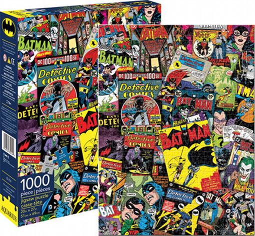 Batman Classic Comic Book Covers Collage 1000 Piece Jigsaw Puzzle