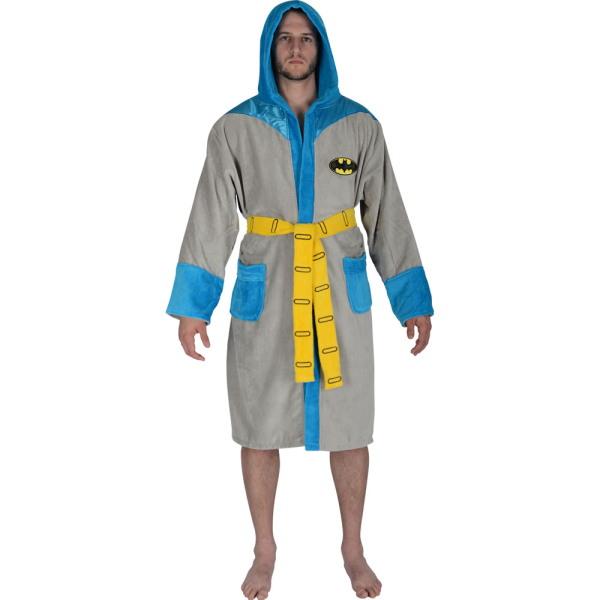 DC Comic s Batman Vintage Costume Adult Toweling Robe  0daf8aa6f