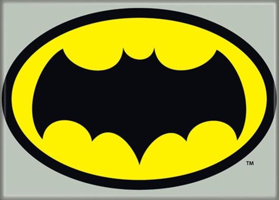 Batman 1960s Tv Series Bat Logo Image Refrigerator Magnet