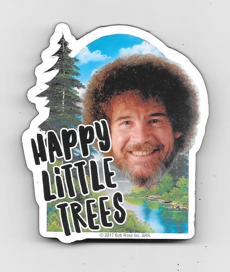happy little trees - 749×888