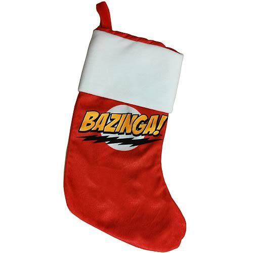 The Big Bang Theory Bazinga! Phrase Logo Christmas Stocking 18 ...
