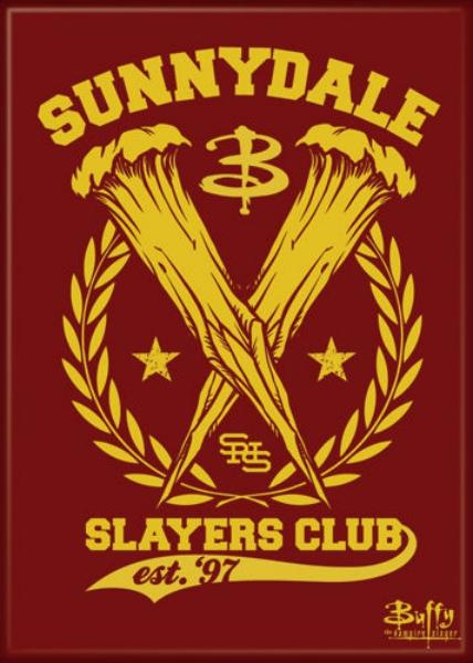 Buffy the Vampire slayer horror clothe patch