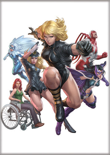Dc Comics Birds Of Prey Group Artgerm Comic Art Refrigerator Magnet New Unused Starbase Atlanta