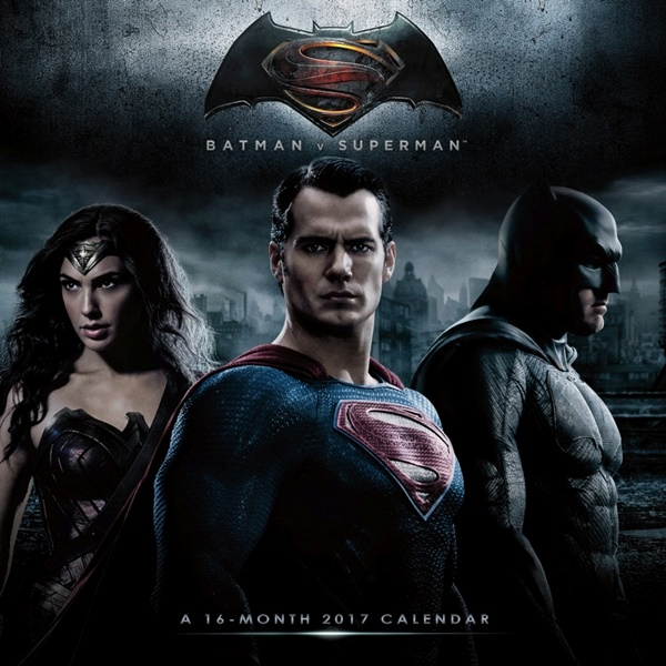 DC Comics Batman V Superman Dawn Of Justice Movie 16 Month