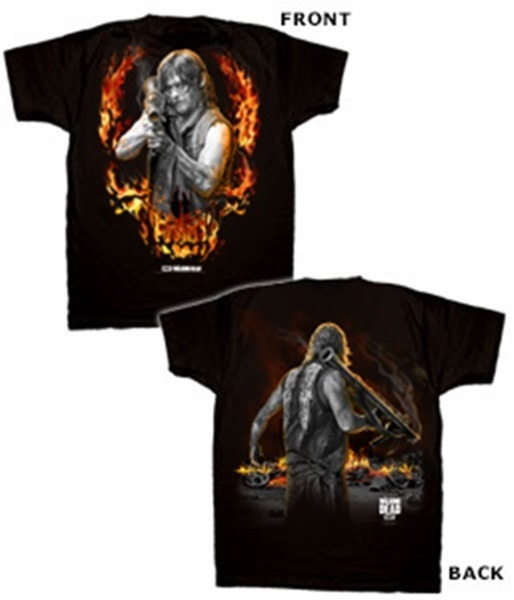 The Walking Dead Daryl Dixon W/Bazooka Two Sided T Shirt
