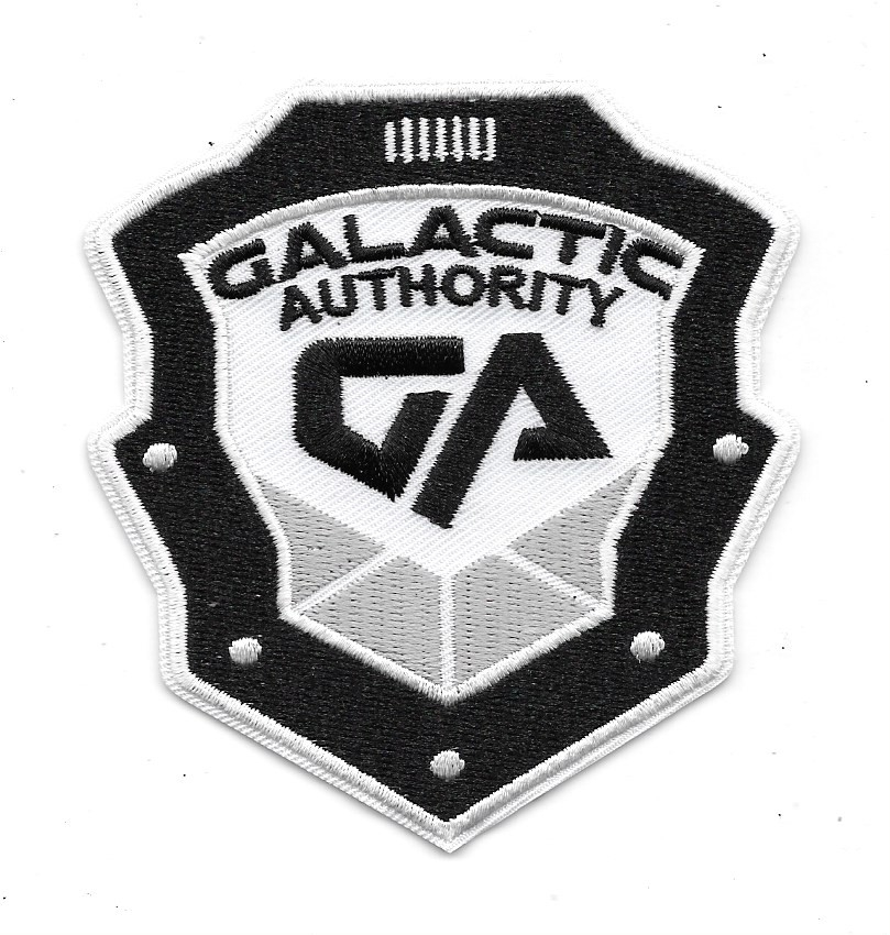 Dark Matter Tv Series Galactic Authority Police Logo Embroidered