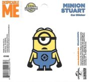 Despicable Me Bee-DO Minion Figure Peel Off Car Sticker Decal NEW UNUSED