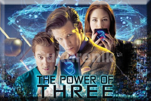 Doctor Who The Power of Three Episode 2 x 3 Refrigerator Magnet NEW UNUSED