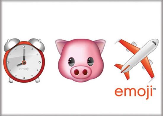 Emoji When Pigs Fly Art Image Refrigerator Magnet