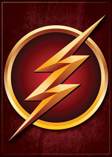 DC Comics The Flash TV Series Lightning Logo Refrigerator Magnet
