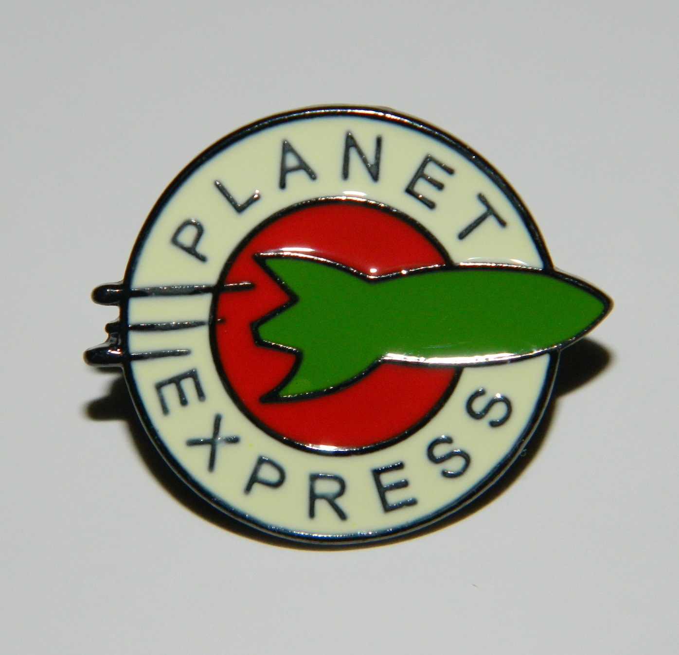 Futurama Animated TV Series Planet Express Logo Embroidered Patch NEW UNUSED