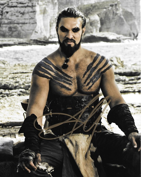 Jason Momoa As Khal Drogo On Game Of Thrones TV Series