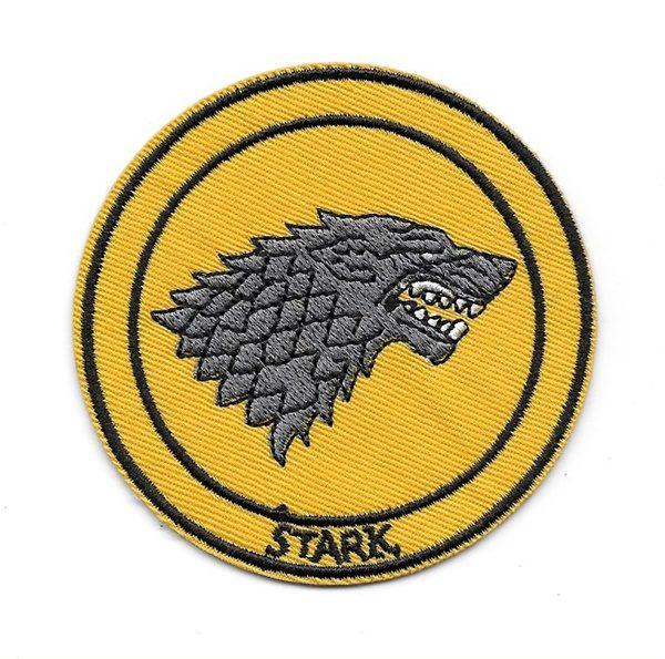 2016 new on the market logo game of thrones stark direwolf bordado.
