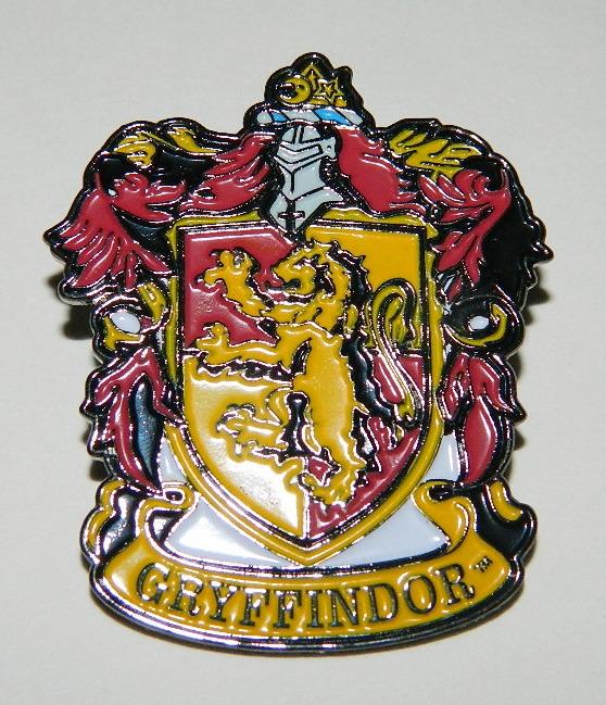 Harry Potter House Of Gryffindor Crest Logo Large Enamel Metal Pin