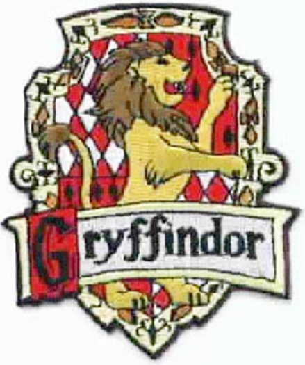 Charming Harry Potter House Of Gryffindor British Logo Embroidered Patch