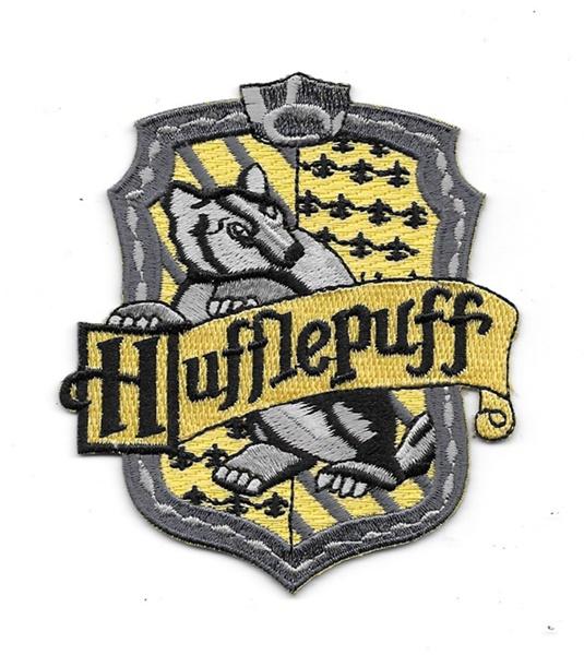 Marvelous Harry Potter House Of Hufflepuff Crest British Logo Embroidered Patch V2
