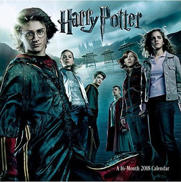 Harry Potter Movie Characters 16 Month 2018 Wall Calendar Starbase
