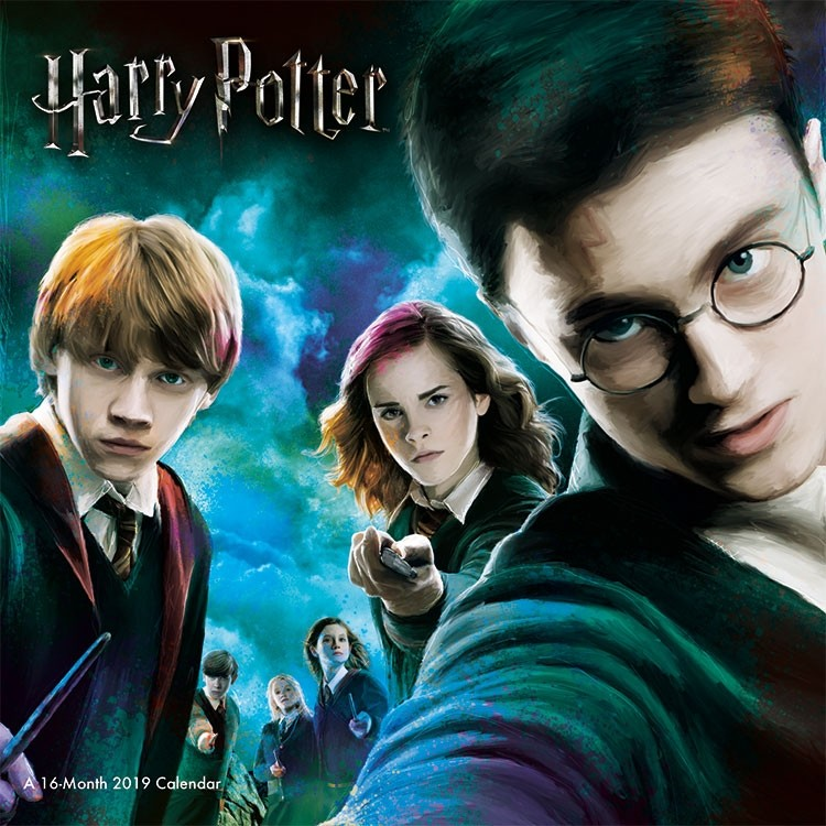Harry Potter Movie Characters 16 Month 2019 Mini Wall Calendar New