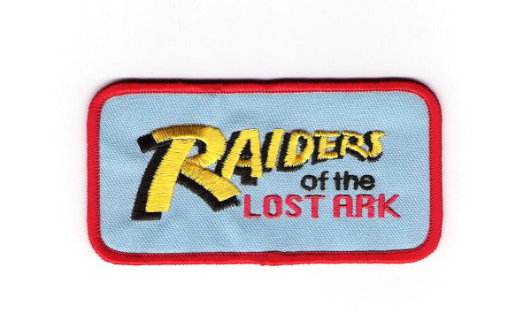Raiders of the Lost Ark Movie Logo Embroidered Patch Indiana Jones