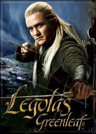 The Hobbit Legolas Greenleaf Photo Image Refrigerator ...