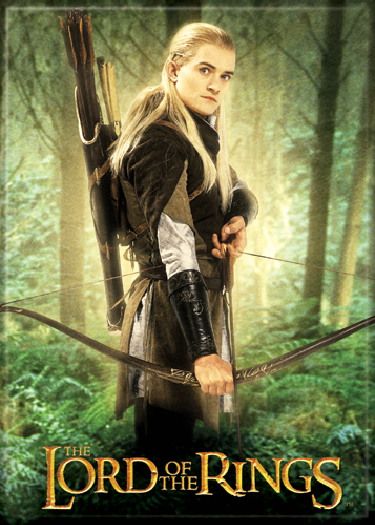 The Lord of the Rings Legolas Greenleaf with Bow Photo ...