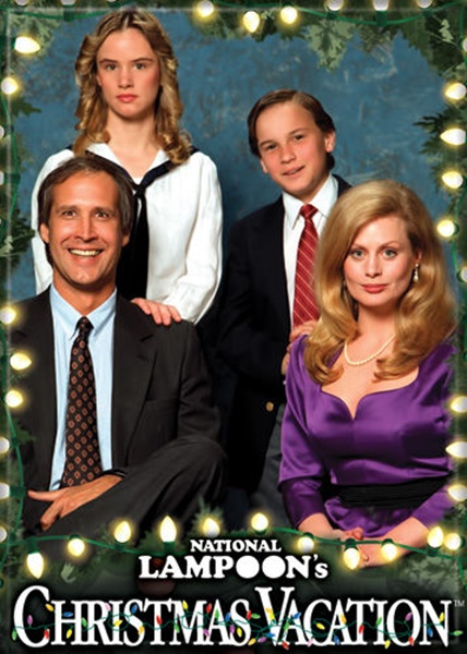 National Lampoo Christmas Vacation.National Lampoon S Christmas Vacation Family Photo Refrigerator Magnet Unused
