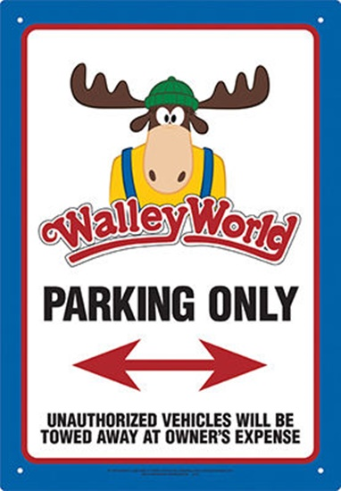 National Lampoon's Vacation Movie Walley World Parking
