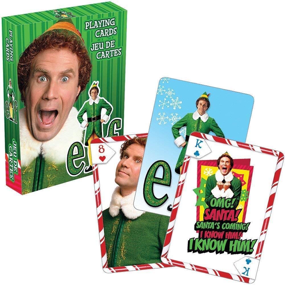 Elf 2003 Movie Photo Illustrated Playing Cards New Sealed Will Ferrell Starbase Atlanta