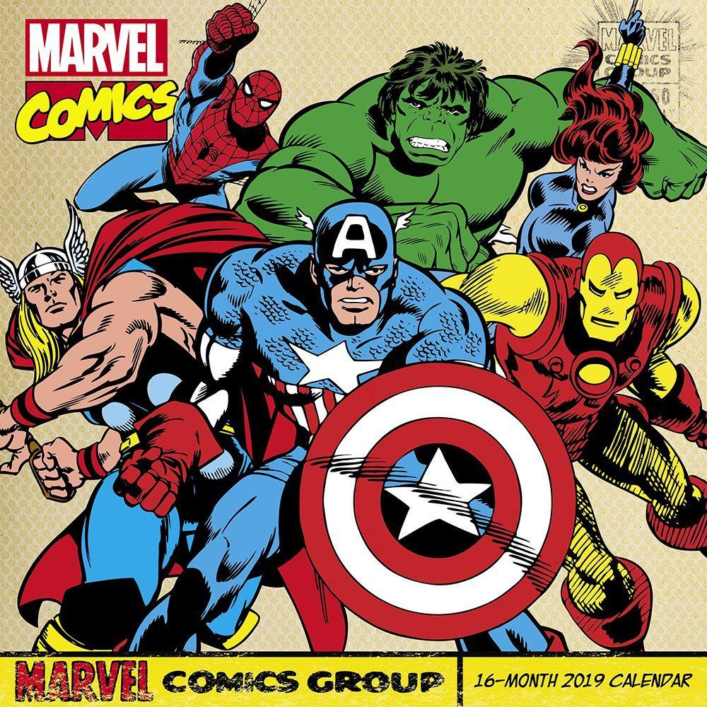 Free Comic Book Day Wallpaper: Marvel Comics Avengers Assemble Comic Art 16 Month 2019