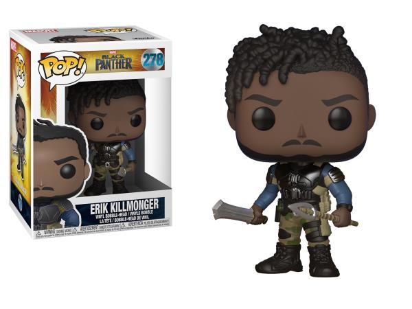 Marvel Comics Black Panther Erik Killmonger Vinyl POP! Figure Toy #278  FUNKO MIB