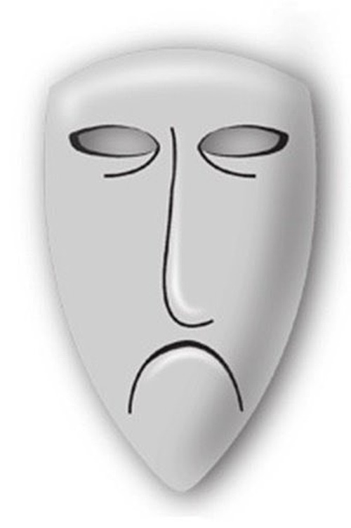 the nightmare before christmas shock face mask pewter lapel pin