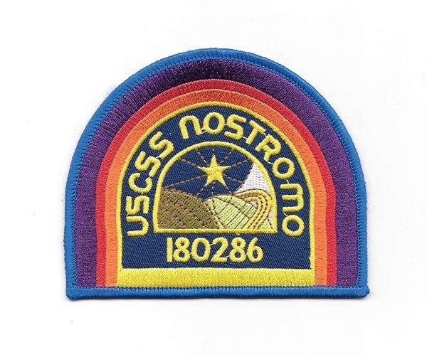 2ad6f4111 Alien Movie U.S.C.S.S. Nostromo Crew Logo Embroidered Patch Dark ...