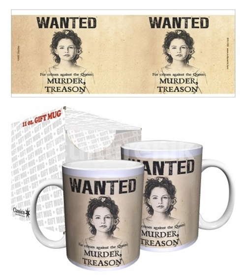 Once Upon A Time Snow White Wanted Poster 11 Oz Ceramic Coffee Mug