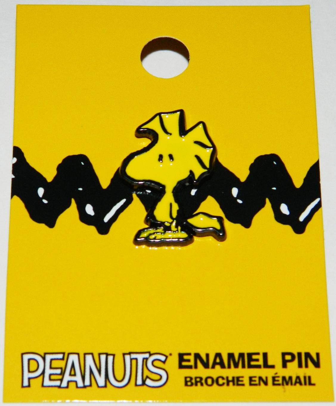 Peanuts Comic Strip Animated Woodstock Figure Enamel Metal Pin New Unused Starbase Atlanta