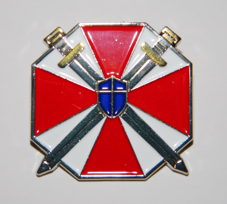 Resident Evil Umbrella Corporation Special Forces Logo Enamel Metal
