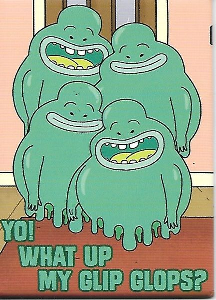 Rick And Morty Animated Tv Series What Up My Glip Glops