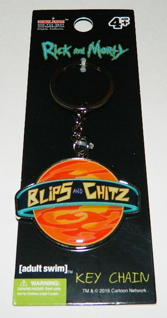 Rick and Morty Animated Series Blips and Chitz Planet Refrigerator Magnet UNUSED