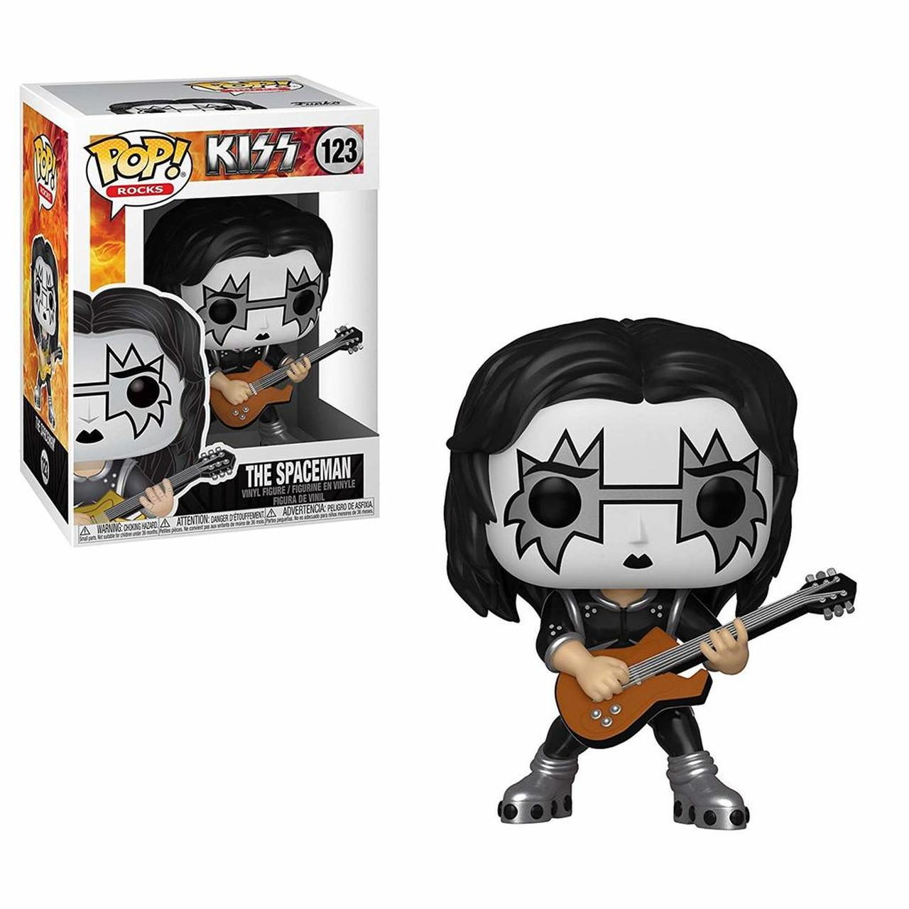 Kiss Rock Band The Spaceman Music Pop Vinyl Figure Toy