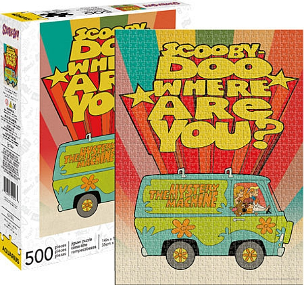 Scooby-Doo TV Mystery Machine Animation Art 500 Piece