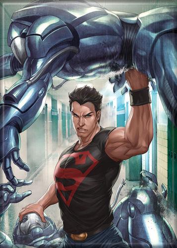 2a0602d19f DC Comics Superman ArtGerm Comic Art Refrigerator Magnet NEW UNUSED ...