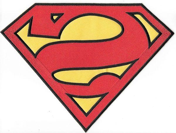 superman s chest reverse logo bizarro style large jacket