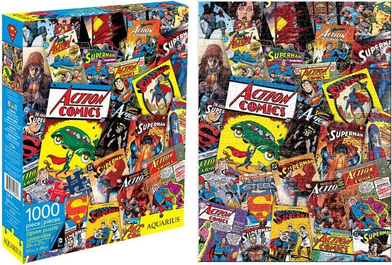 Art Book Cover Collage ~ Dc comics superman comic book cover collage piece