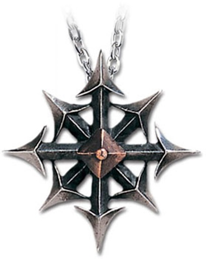 Steampunk victorian alchemy gothic chaos star two tone pendant steampunk victorian alchemy gothic chaos star two tone pendant necklace aloadofball Gallery