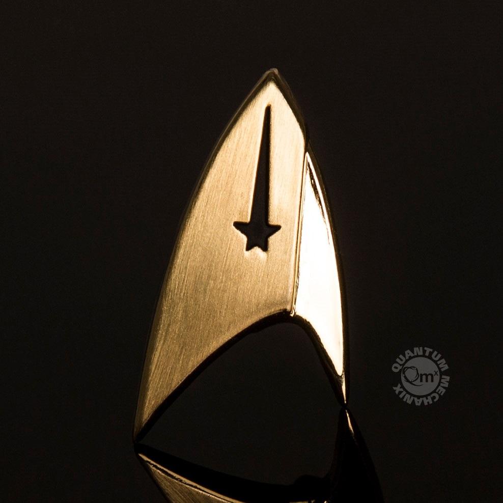 Star Trek Discovery TV Series Command Insignia Metal Lapel Pin Badge NEW  UNUSED
