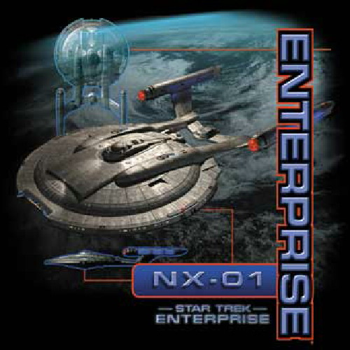 Star Trek Enterprise NX 01 TV Show T-Shirt Sizes S-3X NEW